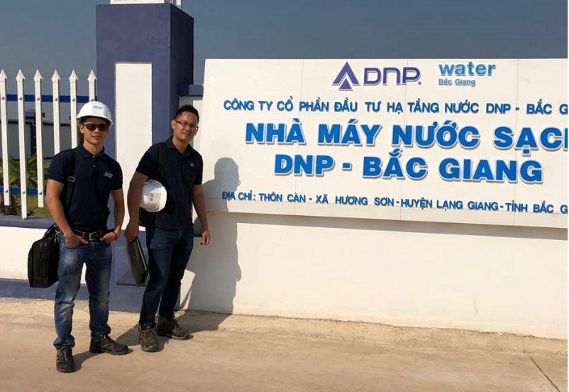 Trạm quan trắc chất lượng nước sạch liên tục các chỉ tiêu: pH, Độ đục và Clo dư của hãng SWAN tại nhà máy DNP Bắc Giang