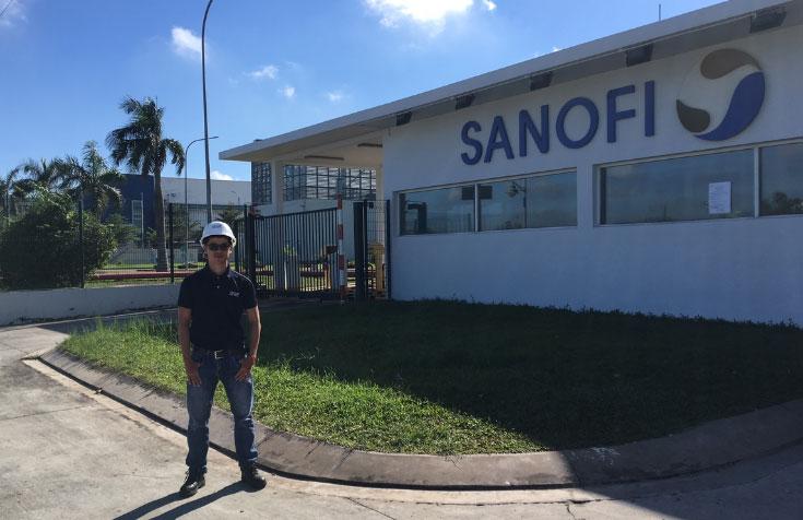 Lắp đặt hệ thống phân tích chất lượng nước tại nhà máy dược phẩm SANOFI Việt Nam