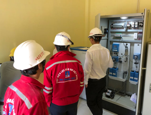 Lắp đặt hệ thống Quan Trắc chất lượng nước thải làm mát tại nhà máy Nhiệt Điện Nhơn Trạch 2